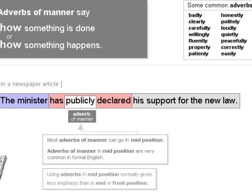 Adverbs of Manner 4