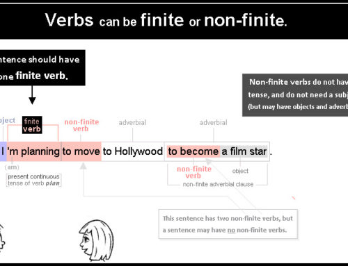 Verb 01 finite or non-finite verbs