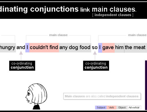 3 Co-ordinating conjunctions